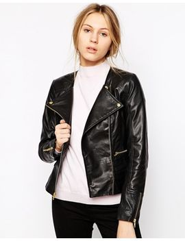 barneys-originals-sienna-leather-collarless-jacket by jacket
