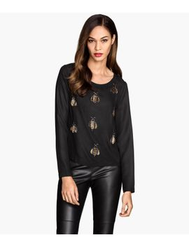 beaded-blouse by h&m