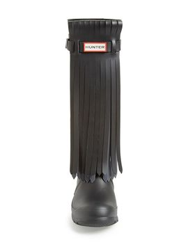 original-fringe-front-rain-boot by hunter