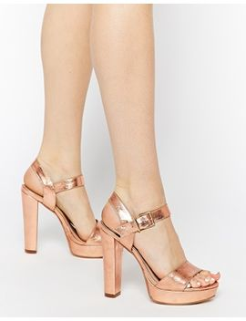 dune-mariella-rose-gold-platform-sandals by dune