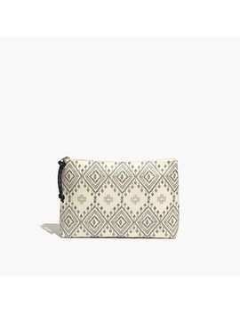 coated-canvas-zip-pouch by madewell