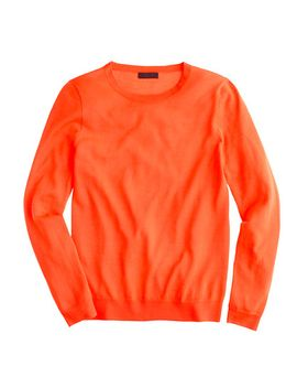 italian-featherweight-cashmere-long-sleeve-t-shirt by jcrew