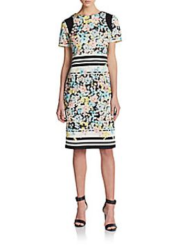 mixed-print-dress by eci