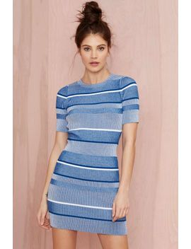 nasty-gal-all-blues-ribbed-sweater-dress by nasty-gal