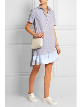 addition-striped-stretch-cotton-dress by thakoon