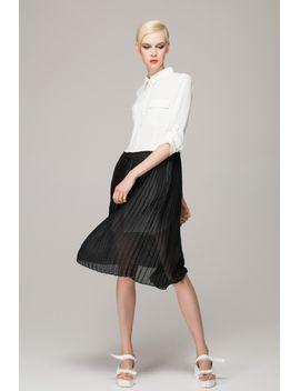 shirt-dress-in-monochrome by designer