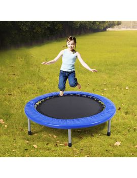 new-38-mini-band-trampoline-safe-elastic-exercise-workout-w_-padding-&-springs by ebay-seller
