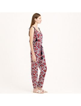 tassel-jumpsuit-in-firework-floral by jcrew