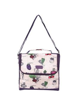 sachi-cross-body-insulated-lunch-tote,-style-207-246,-veggies by sachi