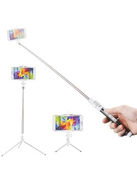 kootek®-extendable-wireless-bluetooth-monopod-selfie-stick-self-portrait-video-built-in-remote-shutter-button-with-tripod-stand-and-zoom-in_out-button-for-samsung-galaxy-iphone-sony-xperia-z4 by kootek