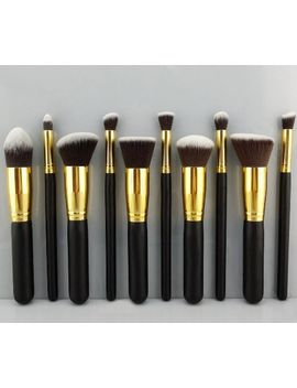 bs-mall(tm)-makeup-brushes-premium-makeup-brush-set-synthetic-kabuki-cosmetics-foundation-blending-blush-eyeliner-face-powder-brush by bs-mall
