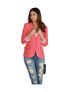 coral-striped-boyfriend-blazer by windsor