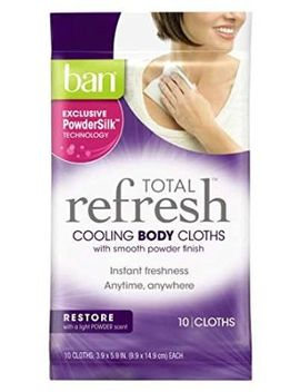 ban-total-refresh-cooling-body-cloths,-restore,-10-count by ban