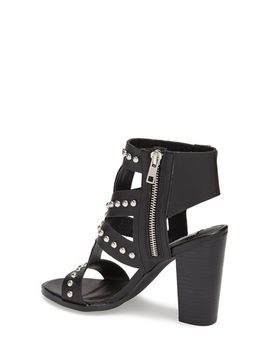 serenna-studded-caged-leather-sandal by steve-madden