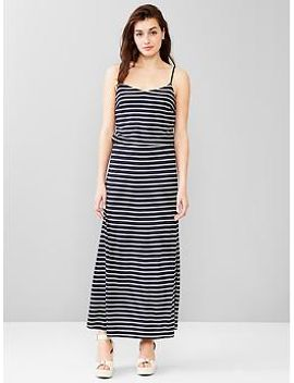 stripe-cami-maxi-dress by gap
