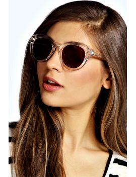 emma-clear-frame-sunglasses by boohoo