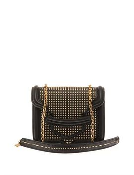 heroine-mini-leather-shoulder-bag-(198114) by alexander-mcqueen