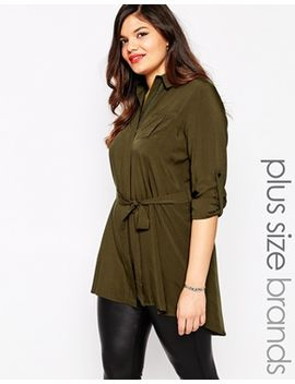 club-l-plus-longline-relaxed-shirt by plus-size-top
