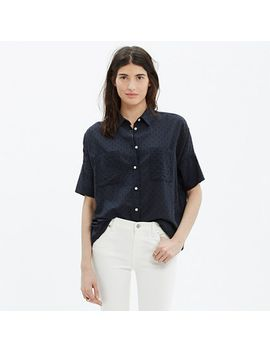 courier-shirt-in-clipdot by madewell