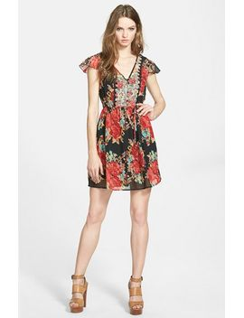 mixed-floral-dress by band-of-gypsies