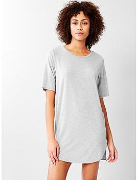 pure-body-essentials-t-shirt-dress by gap