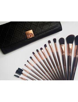 bh-cosmetics-15-pcs-professional-rose-gold-brush-set-new by ebay-seller