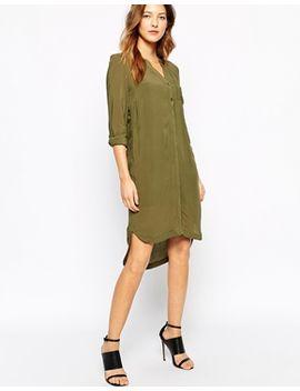 vero-moda-long-line-shirt-dress by vero-moda