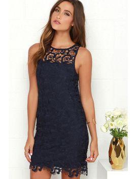 black-swan-pearl-navy-blue-lace-dress by black-swan