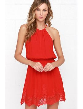 spice-up-your-life-red-lace-dress by lulus