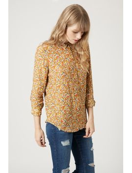 ditsy-floral-print-shirt by topshop
