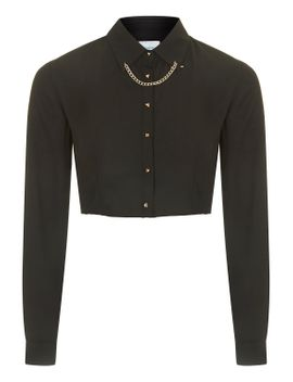 **chain-crop-shirt-by-jovonna by topshop