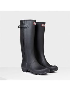 balmoral-neoprene-zip-rain-boots by hunter