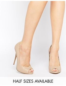 asos-penzance-high-heels-with-peep-toe by asos-collection