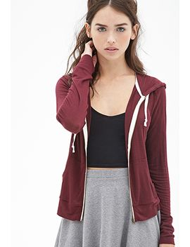 classic-zip-up-hoodie by forever-21