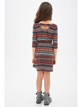 tribal-print-bow-back-dress-(kids) by forever-21