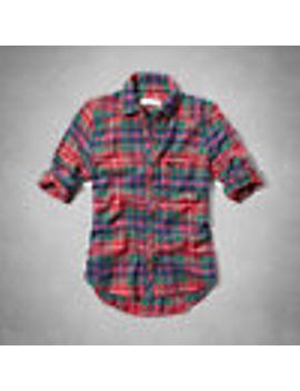 boxy-shine-top by abercrombie-&-fitch