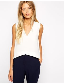 asos-v-hem-shell-top by asos-collection