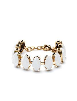 teardrop-stone-bracelet by jcrew
