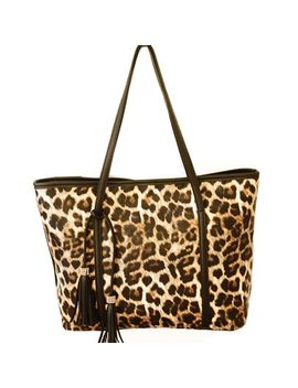 gorgeous-womens-shoulder-bag-with-leopard-print-and-tassels-design by sammy-dress