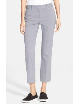 izelle-s-check-crop-pants by theory