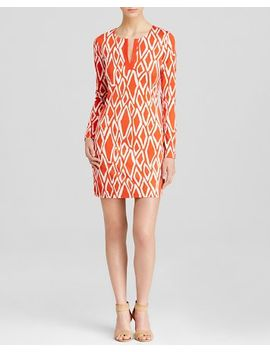 diane-von-furstenberg-dress by reina-ikat-print-silk