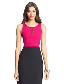 dvf-raica-silk-tank-blouse by dvf