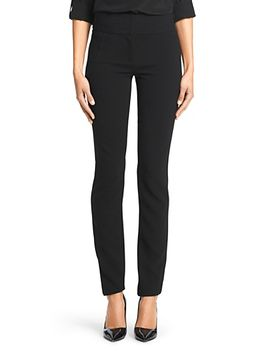 dvf-julie-stretch-crepe-straight-leg-pant by dvf