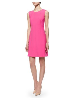 carrie-sleeveless-crepe-dress by diane-von-furstenberg