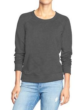 womens-crew-sweatshirts by old-navy