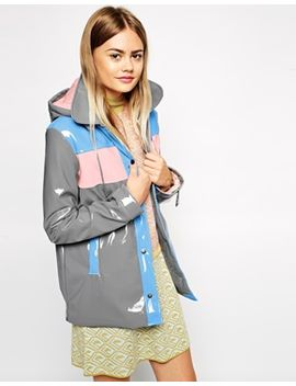 asos-rain-mac-with-vinyl-panel-detail by asos-collection