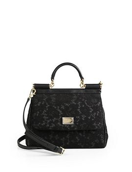sicily-lace-top-handle-satchel by dolce-&-gabbana