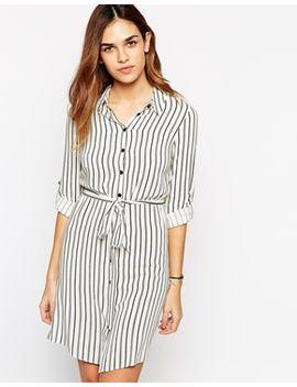 new-look-stripe-longline-shirt-dress by new-look