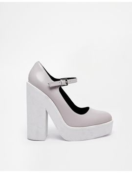 river-island-mary-jane-gray-platform-shoes by river-island