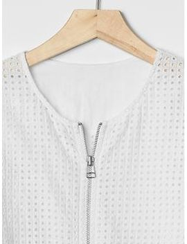 eyelet-bomber-jacket by gap